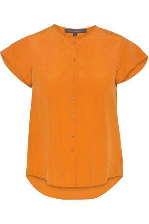 French Connection Kvinder Kortærmede - Ery Crepe Sslv Shirt Kortærmet Skjorte