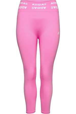 adidas Training Aeroknit 7/8 High-Rise Tights W Running/training Tights Lyserød