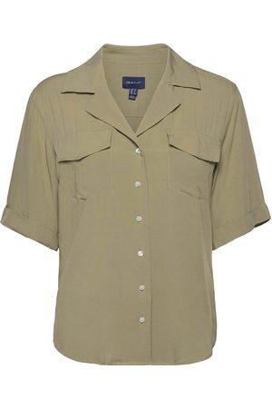 GANT D2. Lightweight Safari Shirt Kortærmet Skjorte