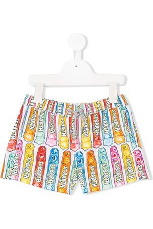 MC2 SAINT BARTH Drenge Badeshorts - Printed swim shorts