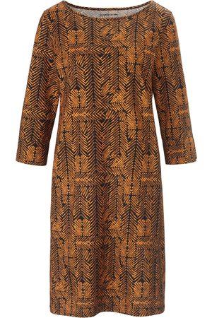 Green Cotton Kvinder Casual kjoler - Jerseykjole i 100% bomuld Fra sort