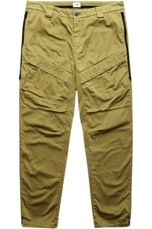C.P. Company SATIN CARGO TROUSERS WITH SIDE WAISTBANDS