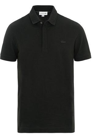 Lacoste Mænd Poloer - Regular Fit Tonal Crocodile Poloshirt Black