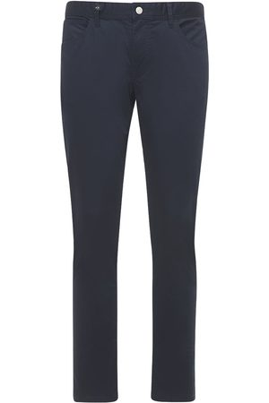 Armani 5 Pockets Stretch Cotton Pants