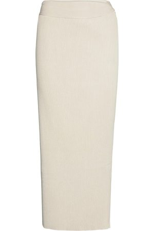 By Malene Birger Fauris Lang Nederdel Creme