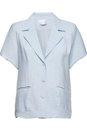 Hosbjerg Kvinder Kortærmede - Billie Blazer Kortærmet Skjorte