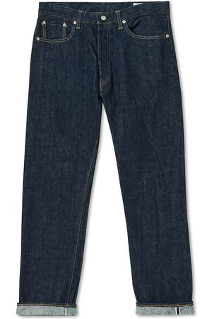 orSlow Mænd Straight - Straight Fit 105 Selvedge Jeans One Wash