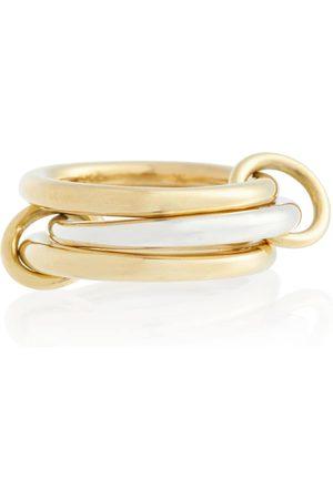 SPINELLI KILCOLLIN Kvinder Ringe - Taurus SG 18kt gold and sterling silver linked rings