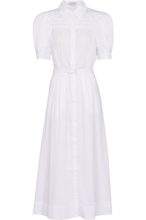 GABRIELA HEARST Sen cotton shirt dress