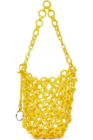 Jil Sander Chain-link resin tote