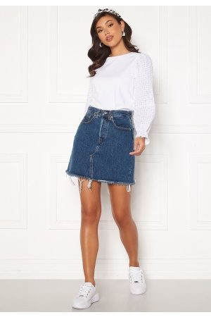 Levi's Hr Decon Iconic Bf Skirt 0009 Meet In The Mid 23