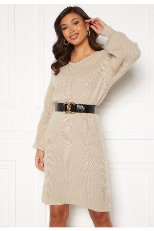 Rut & Circle Kvinder Strikkede kjoler - Miranda Knit Dress Light S