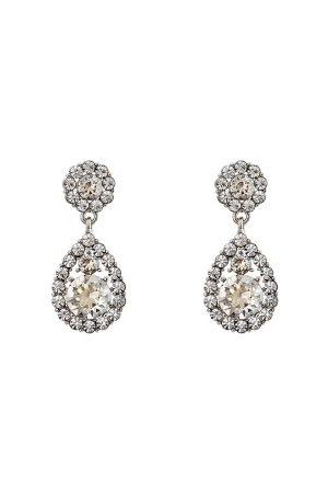 LILY AND ROSE Kvinder Øreringe - Petite Sofia Earrings Crystal One size