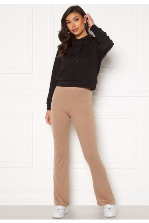 Pieces Molly HW Flared Pants Warm Taupe S