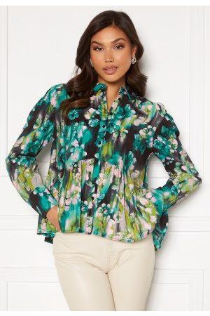 Vero Moda Nora L/S Shirt Ash AOP:Nora XL