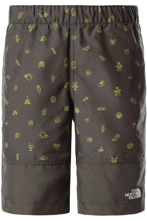 The North Face Badeshorts - Camp Esential - Taupe Green m. Print