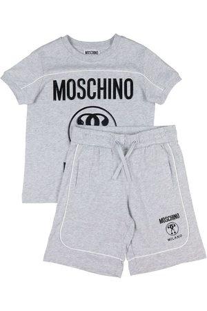 Moschino Sæt - T-shirt/Shorts - Gråmeleret