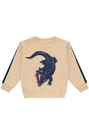 Soft Gallery Sweatshirt - Baptiste - m. Krokodille