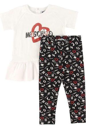 Moschino Sæt - T-shirt/Leggings - / m. Print
