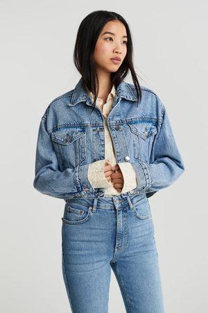 Gina Tricot Cropped denim jacket