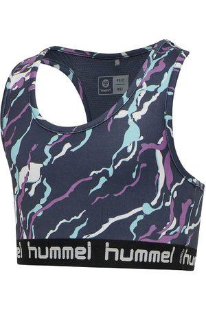 Hummel Træningstop - hmlMimmi - Mørkegrå m. mønster