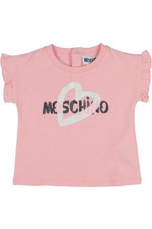 Moschino T-shirt - Lyserød m. Logo