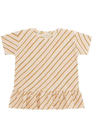 Soft Gallery T-shirt - Acey - Gardenia m. Karry