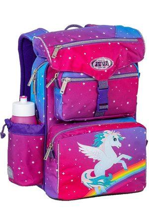 Jeva Rygsække - Skoletaske - Beginners - Rainbow Pegasus
