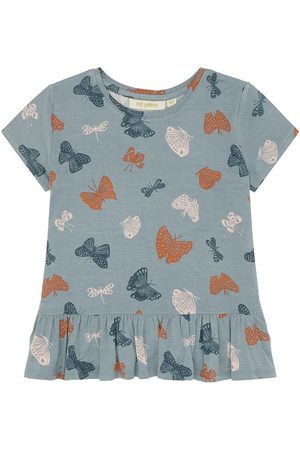 Soft Gallery T-shirt - Acey - Arona m. Sommerfugle