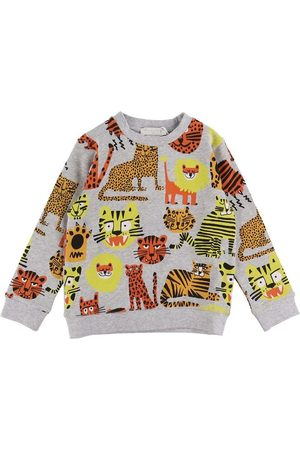 Stella McCartney Sweatshirt - Gråmeleret m. Kattedyr
