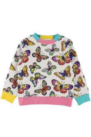 Stella McCartney Sweatshirts - Sweatshirt - m. Sommerfugle