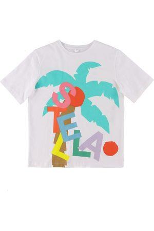 Stella McCartney Kortærmede - T-shirt - m. Palmer