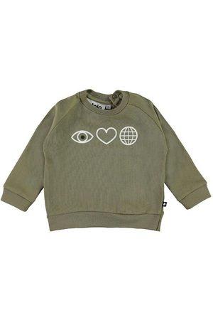 Molo Sweatshirts - Sweatshirt - Disco - Khaki Green