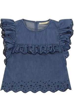 Soft Gallery Toppe - Top - Florin - Denim Blue