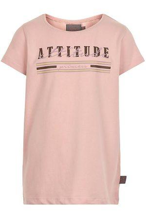 Creamie Kortærmede - T-shirt - Attitude - Rose Smoke m. Print