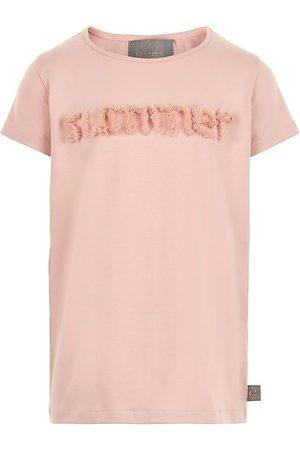 Creamie Kortærmede - T-shirt - Rose Smoke m. Tyl