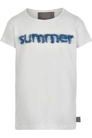 Creamie Kortærmede - T-shirt - Cloud m. Tyl