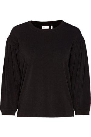 INWEAR Kvinder Langærmede - Izoraiw Wrinkle Top Bluse Langærmet
