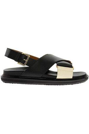 Marni Kvinder Sandaler - Fussbett Sandal