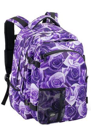Jeva Skoletaske - Supreme - Purple Rose