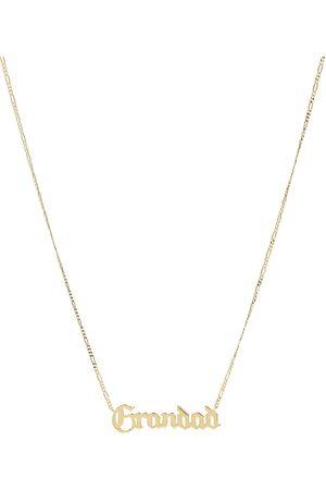 Maria Black Grandad Necklace Accessories Jewellery Necklaces Dainty Necklaces