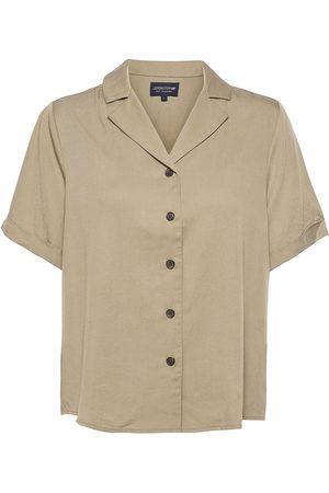 Lexington Eva Short Sleeve Lyocell Shirt Kortærmet Skjorte