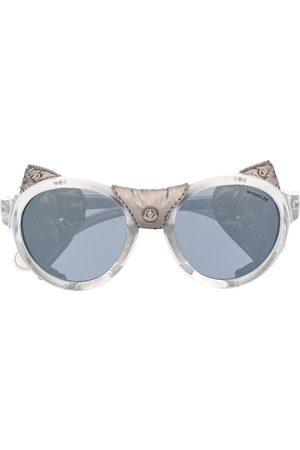 Moncler Solbriller - Solbriller med læder og nitter