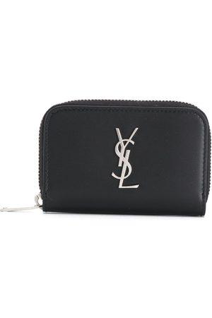 Saint Laurent Mænd Punge - YSL håndtaske med lynlås og logo