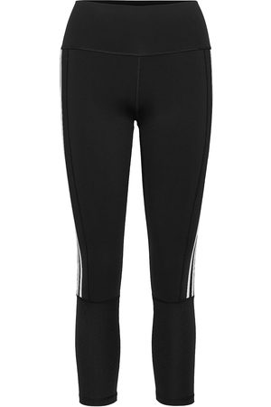 adidas Kvinder Tights - Believe This 2.0 3-Stripes Ribbed 7/8 Tights W Running/training Tights