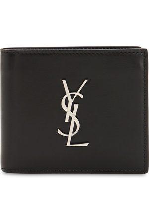 Saint Laurent East/west Logo Leather Wallet