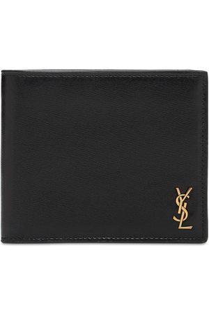Saint Laurent Mænd Punge - Tiny Monogram Leather Wallet