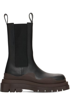 Bottega Veneta Kvinder Støvler - 50mm Bv Tire Leather Beatle Boots