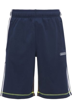 adidas Mænd Shorts - Contrast Cotton Blend Sweat Shorts