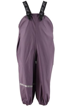 CeLaVi Regnbukser m. Seler - PU - Vintage Violet
